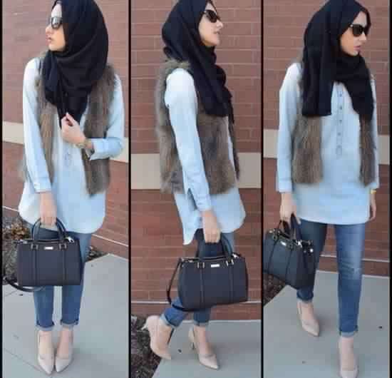 20 Look Hijab Casual Inspirants1