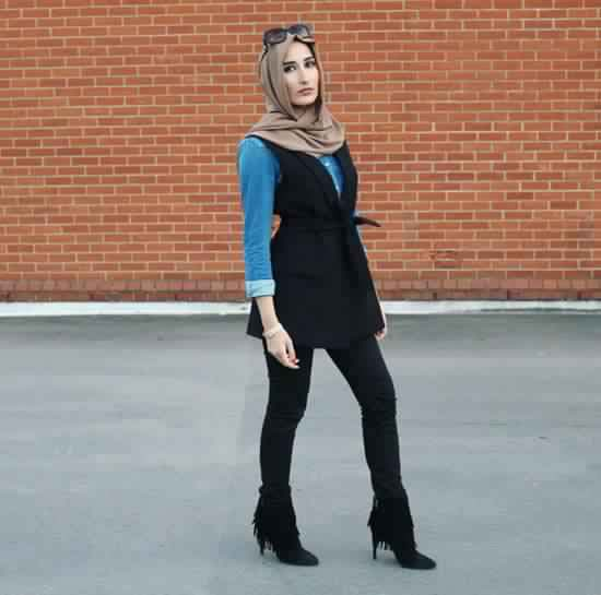 20 Look Hijab Casual Inspirants6