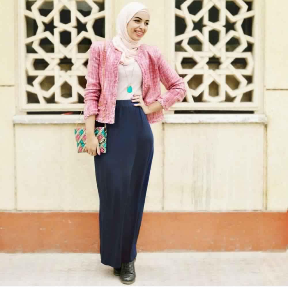 Jupe Longue Avec Hijab