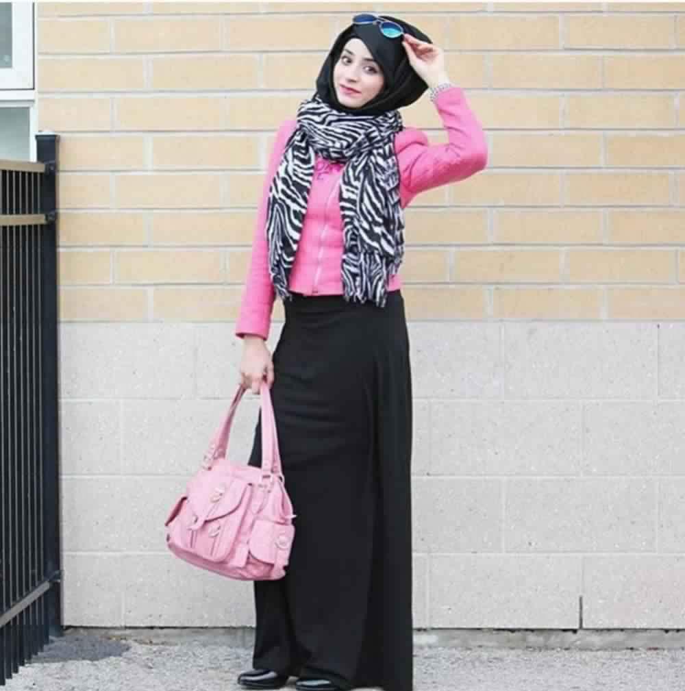 Jupe Longue Avec Hijab 10
