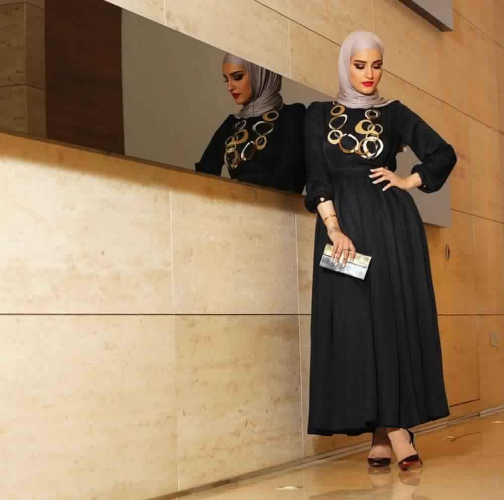 Jupe Longue Avec Hijab 13