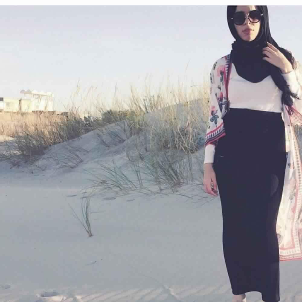 Jupe Longue Avec Hijab 3