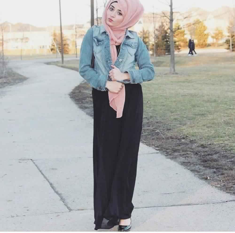Jupe Longue Avec Hijab 5
