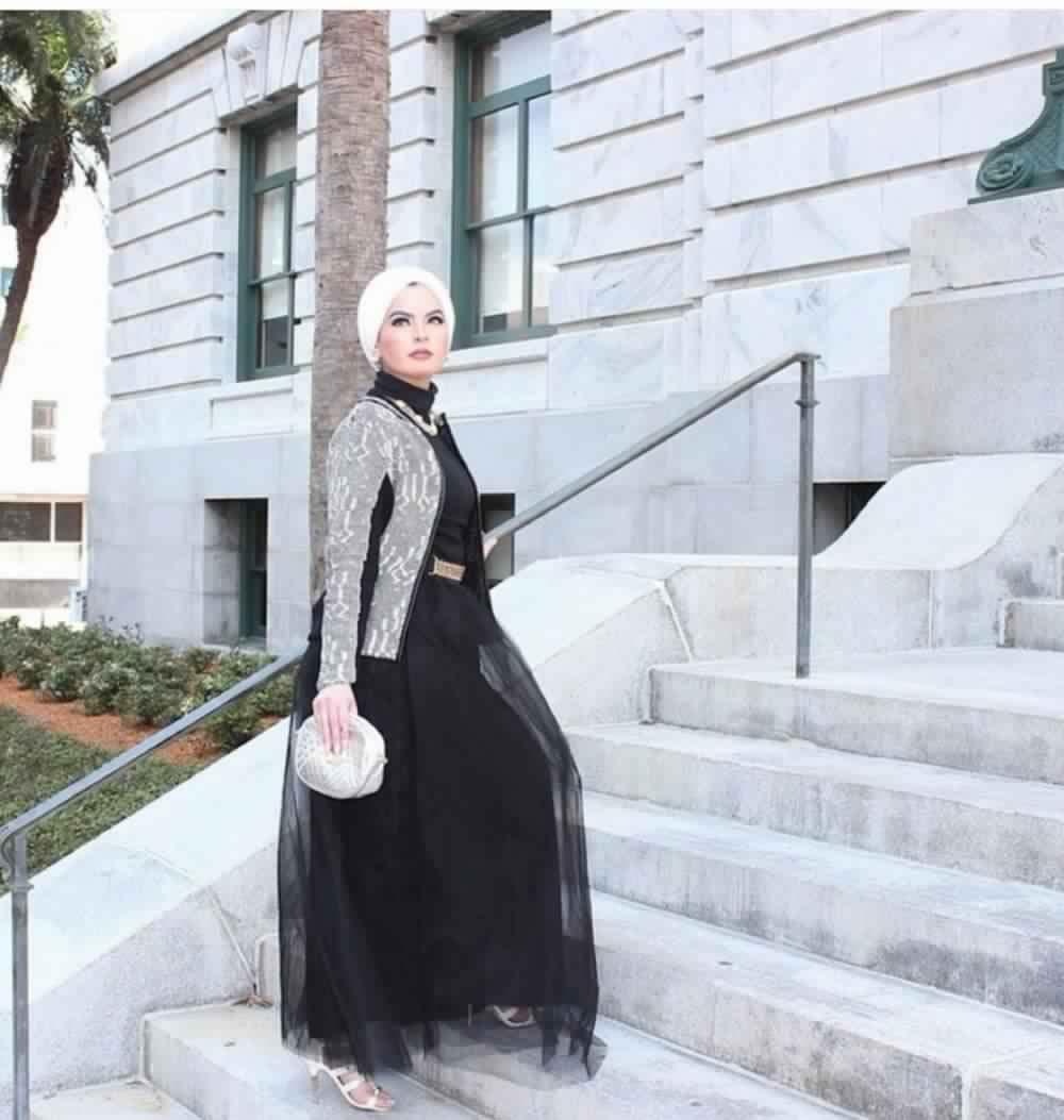 Jupe Longue Avec Hijab 6
