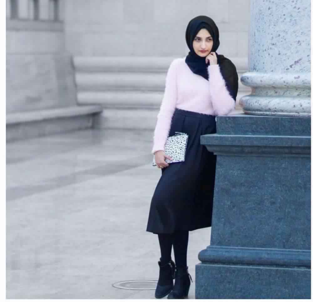 Jupe Longue Avec Hijab 7