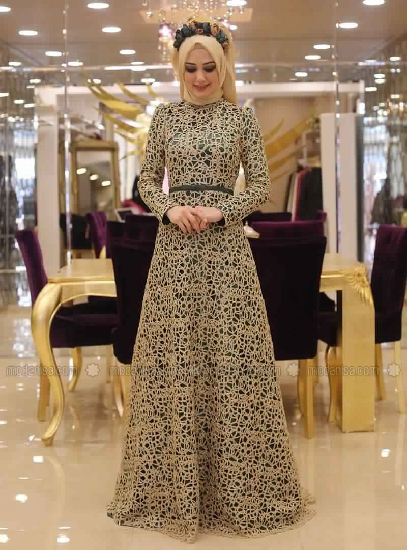 Robe soiree mohajabat