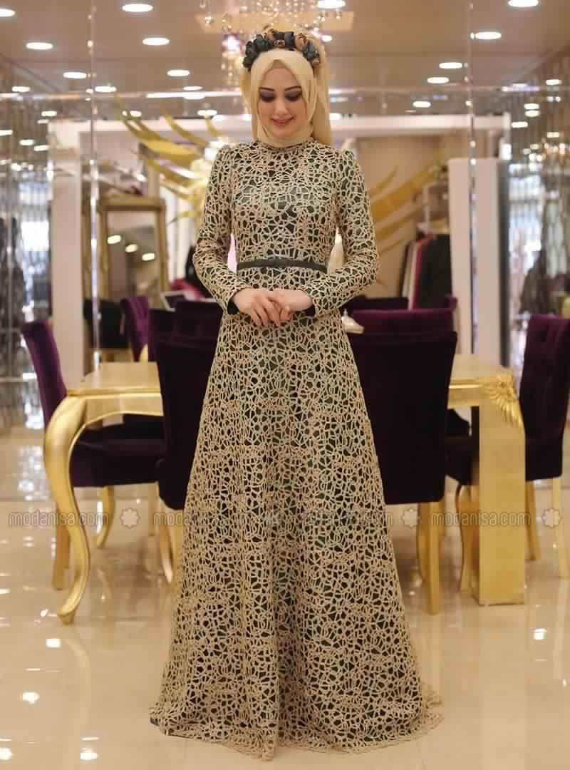 Robe De Soirée Femme Voilée3
