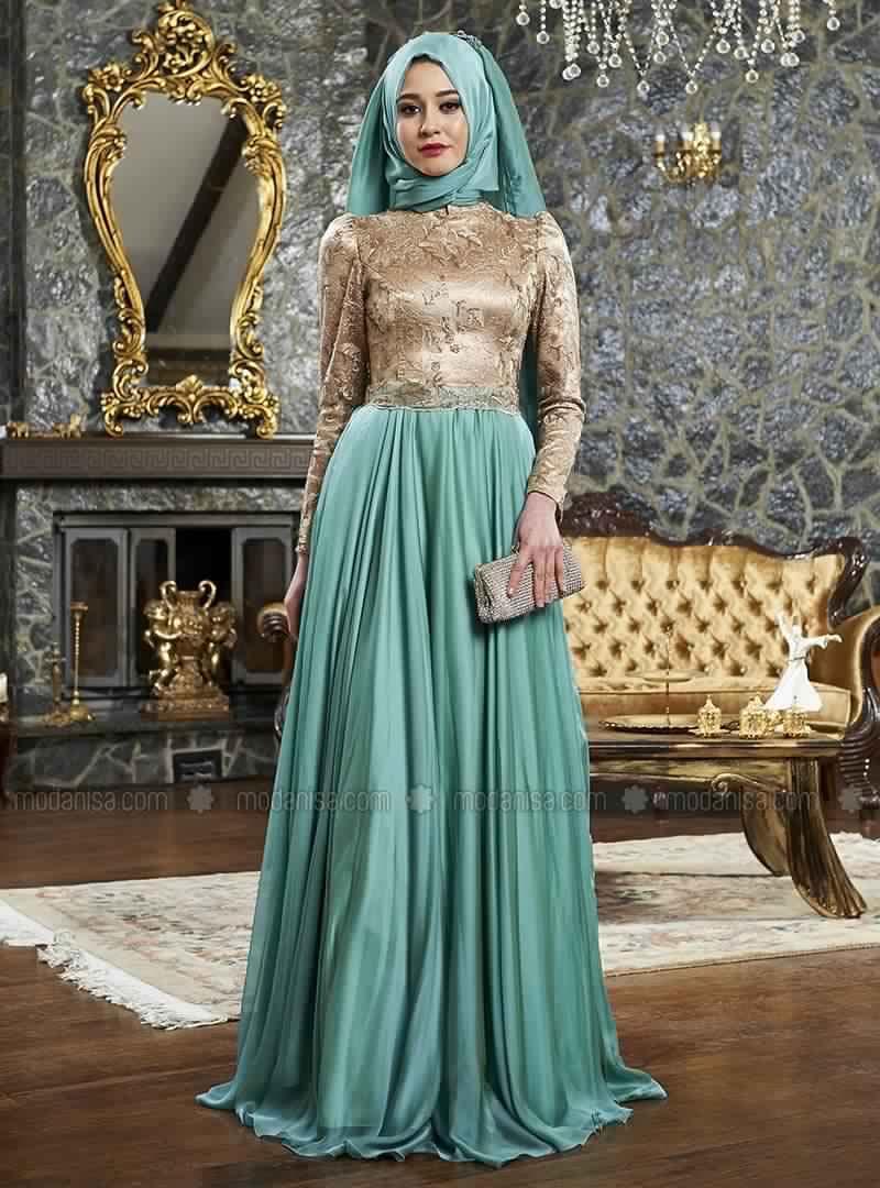 Robe De Soirée Femme Voilée5