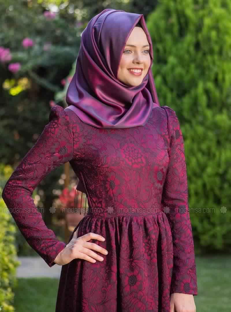 Robe Magnifique Pour Femme Voilée