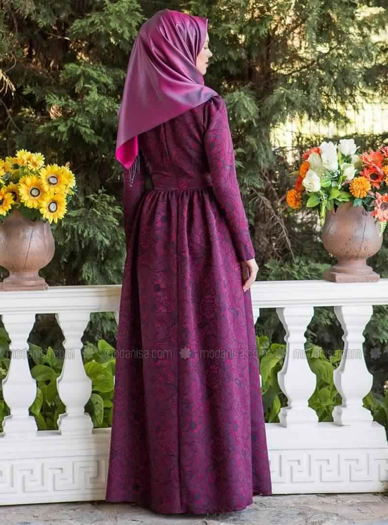 Robe Magnifique Pour Femme Voilée1