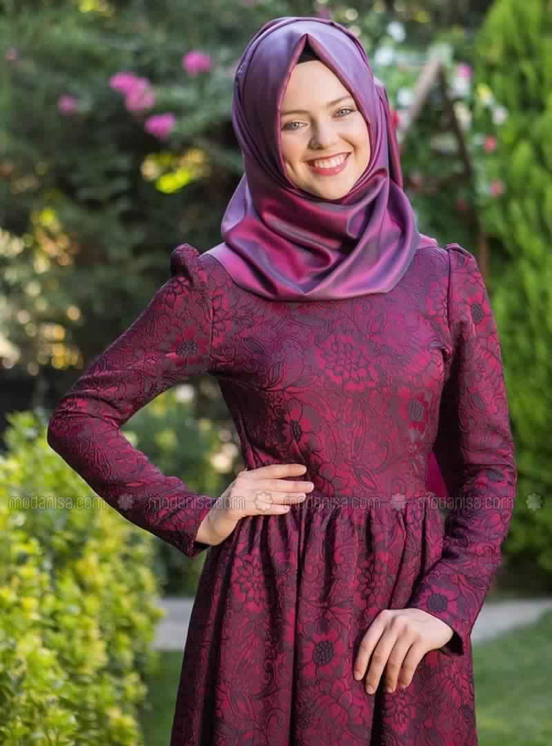 Robe Magnifique Pour Femme Voilée2