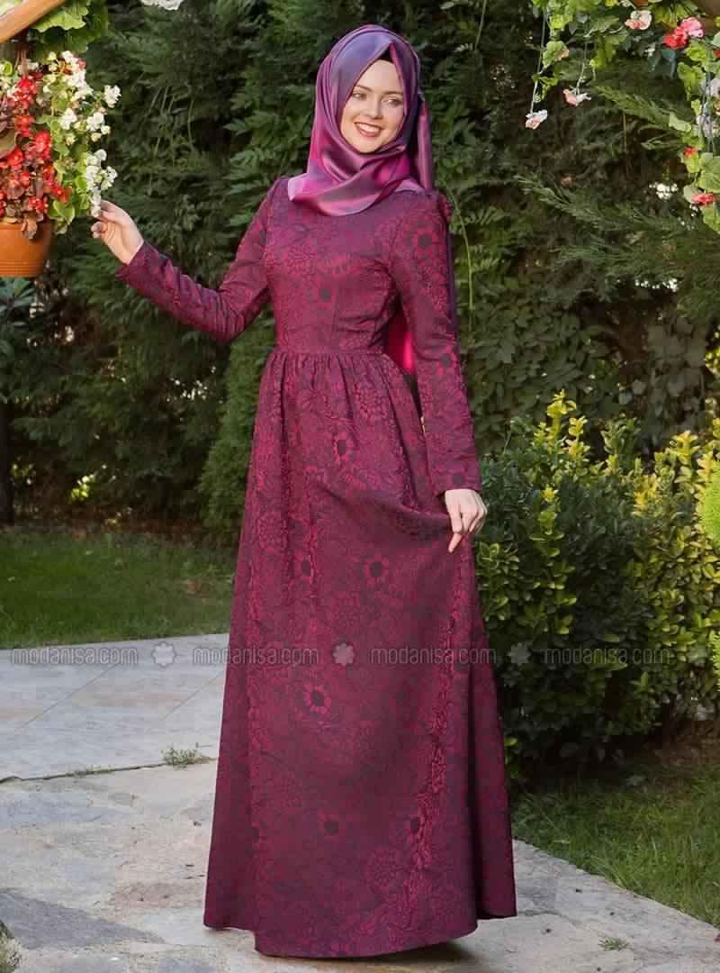 Robe Magnifique Pour Femme Voilée3