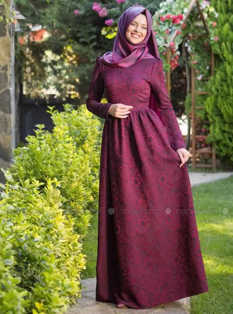 Robe Magnifique Pour Femme Voilée4