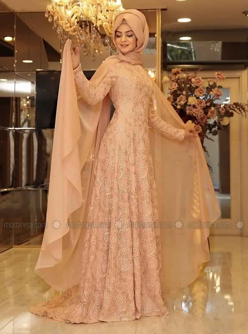 Robe de Soirée Pour Femme Voilée2