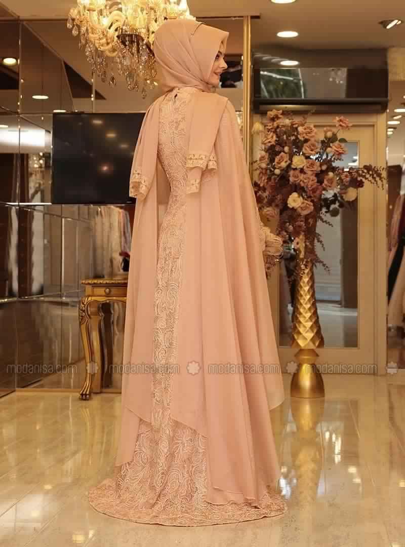 Robe de Soirée Pour Femme Voilée4