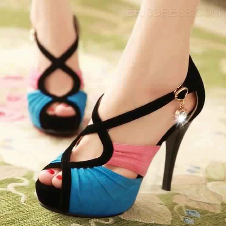 Sandales À Talons Hauts Pas Cher8