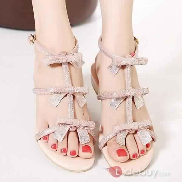 Sandales Plates Confortables