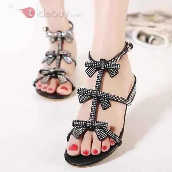 Sandales Plates Confortables1