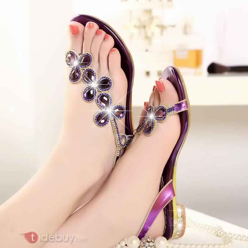 Sandales Plates Confortables11