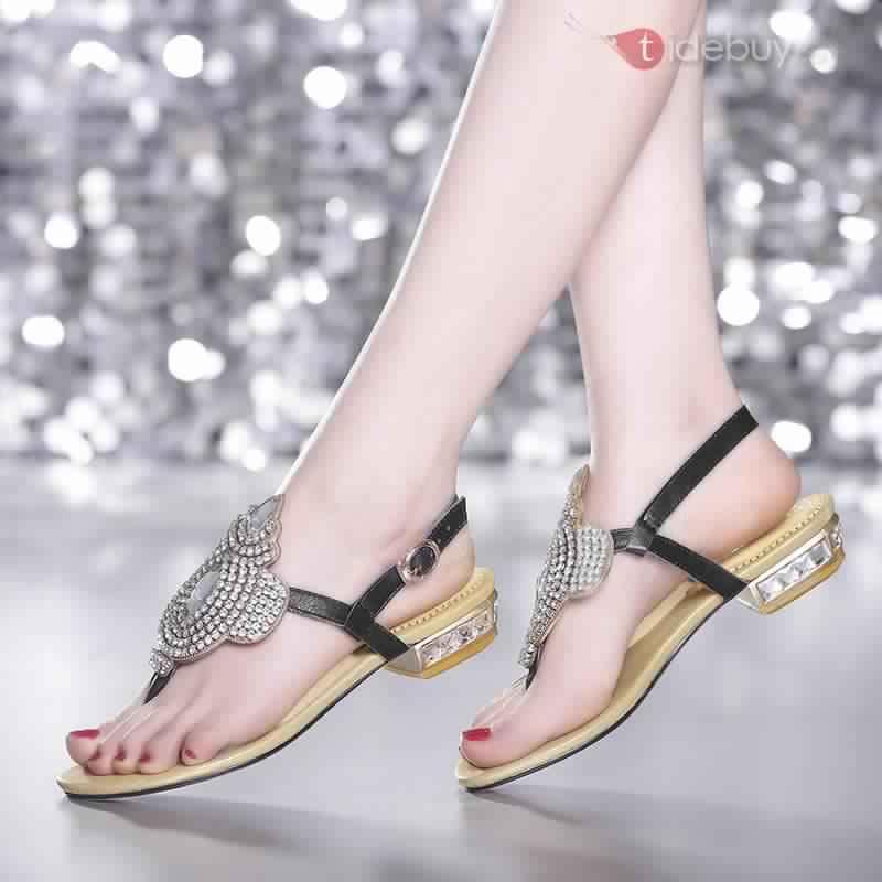 Sandales Plates Confortables15