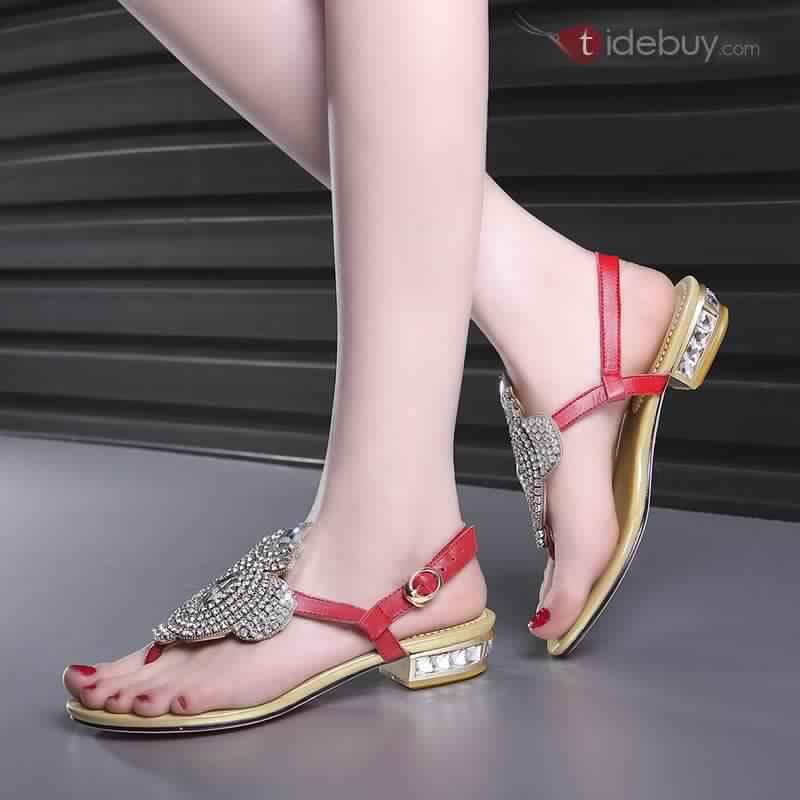 Sandales Plates Confortables16