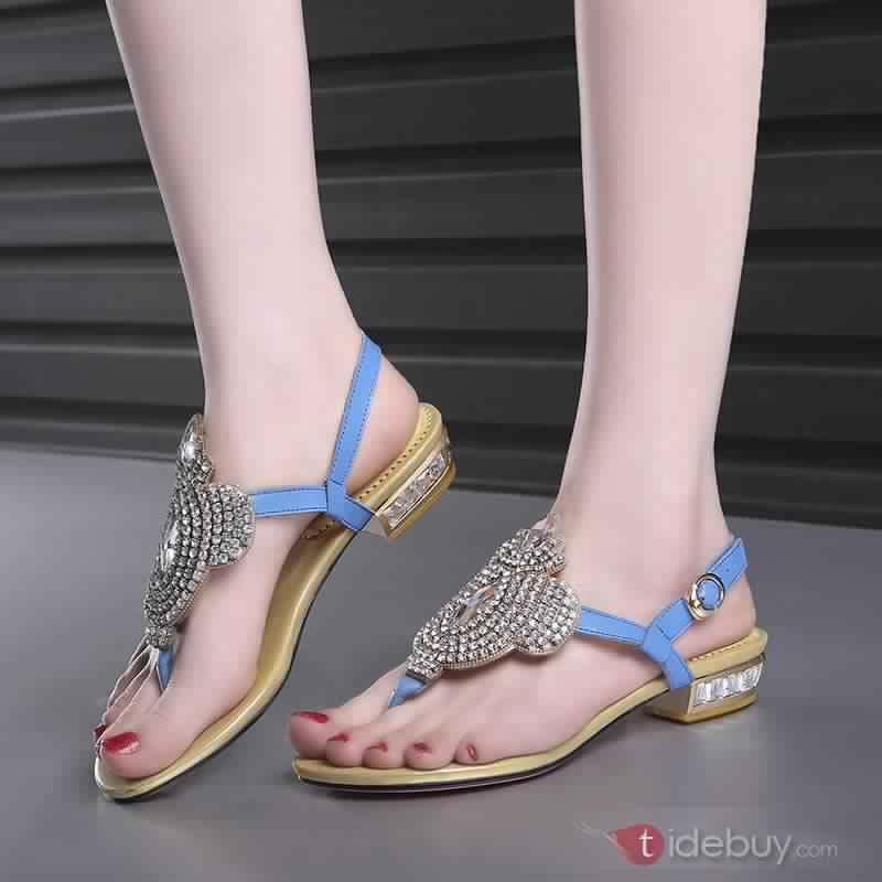 Sandales Plates Confortables17
