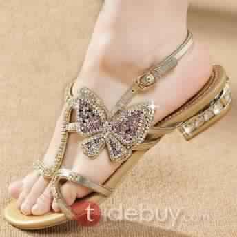 Sandales Plates Confortables18