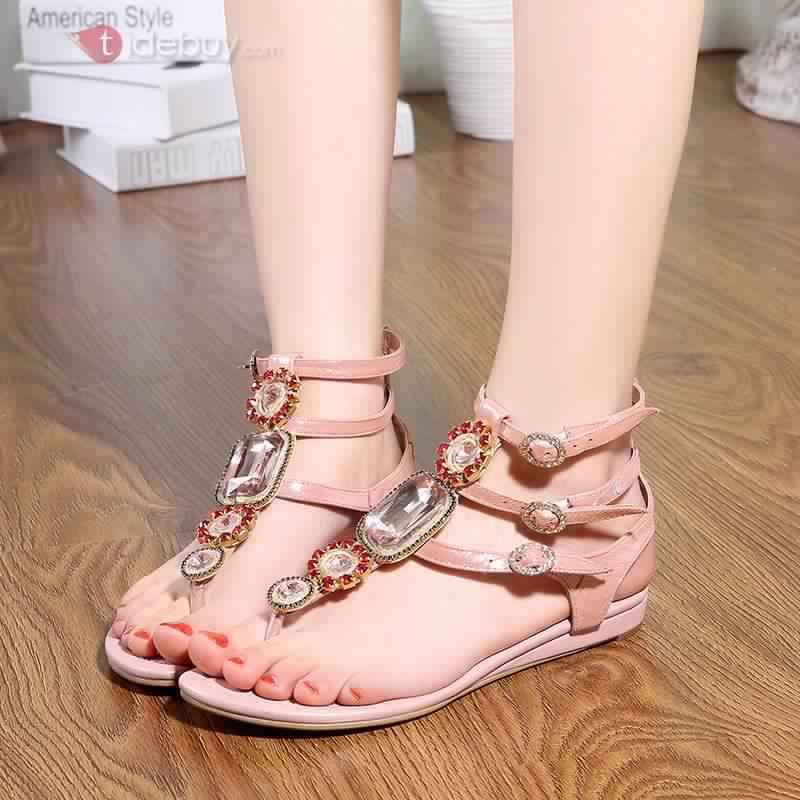 Sandales Plates Confortables21