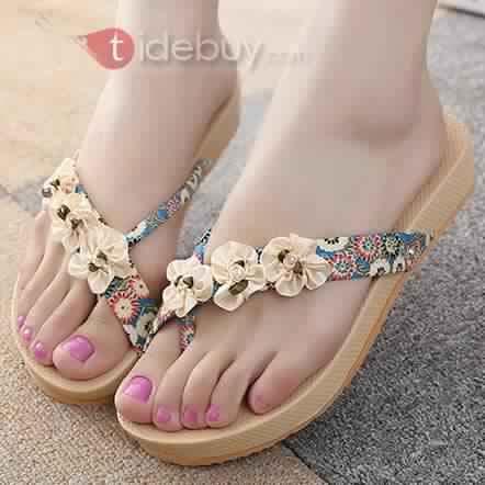 Sandales Plates Confortables22