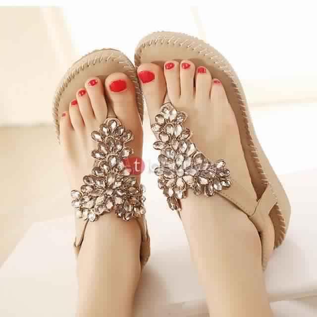 Sandales Plates Confortables24