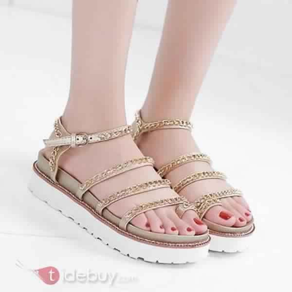 Sandales Plates Confortables3