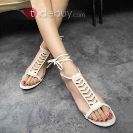 Sandales Plates Confortables5