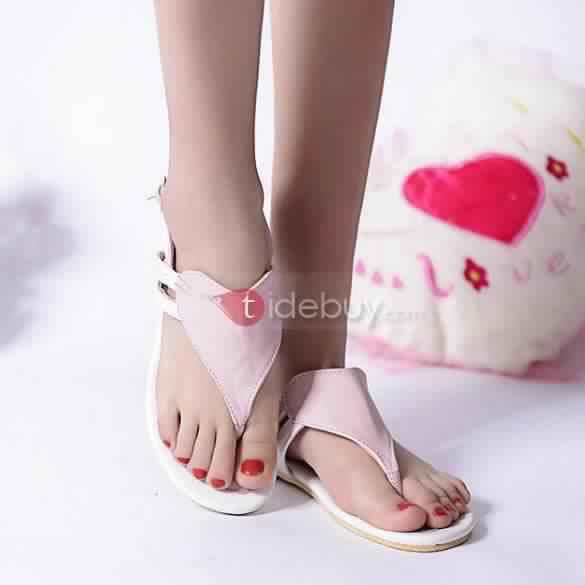 Sandales Plates Confortables7