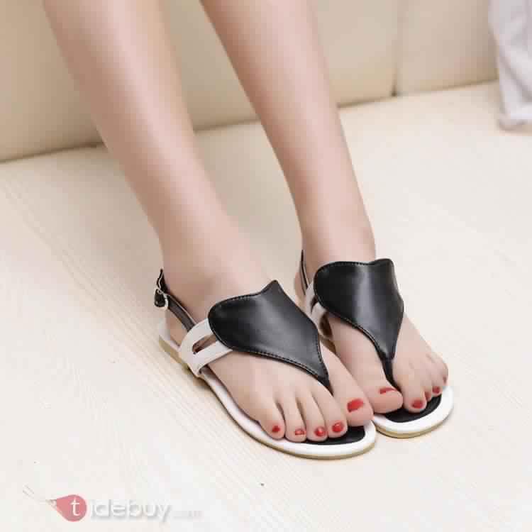 Sandales Plates Confortables8