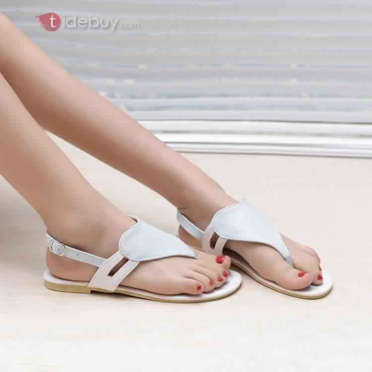 Sandales Plates Confortables9