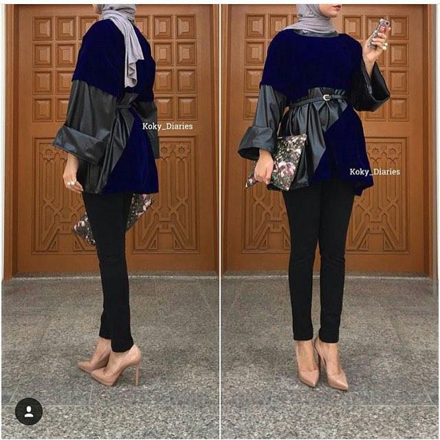 Styles De Hijab Modernes Et Fashion7