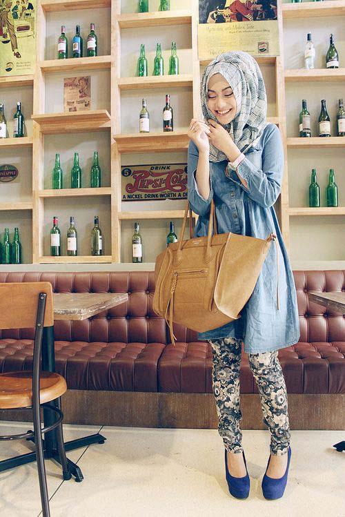 Tunique Longue Avec un Pantalons Serré4