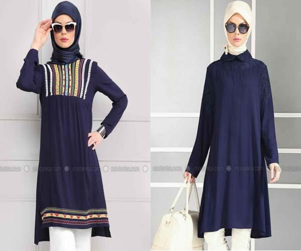 c4f164a9ba5 2 Styles De Tunique Longue Très Chic Et Élégante Pour Femme Voilée À Petit  Prix - astuces hijab