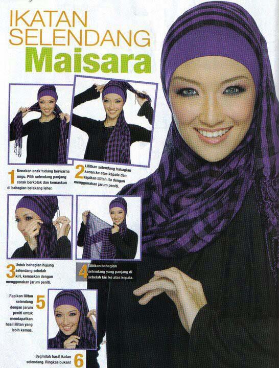 Tutoriel De Hijab Fashion