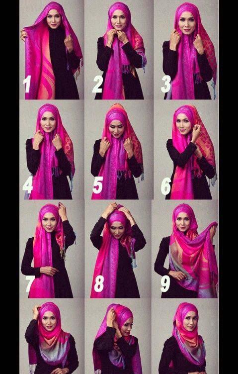 Tutoriel De Hijab Fashion1