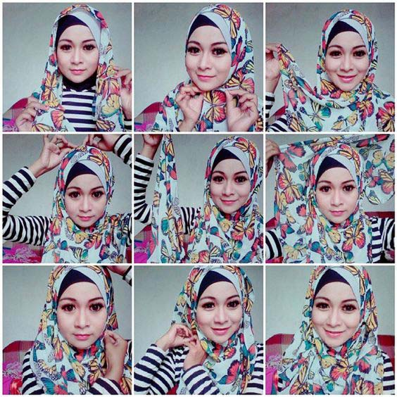 Tutoriel De Hijab Fashion17