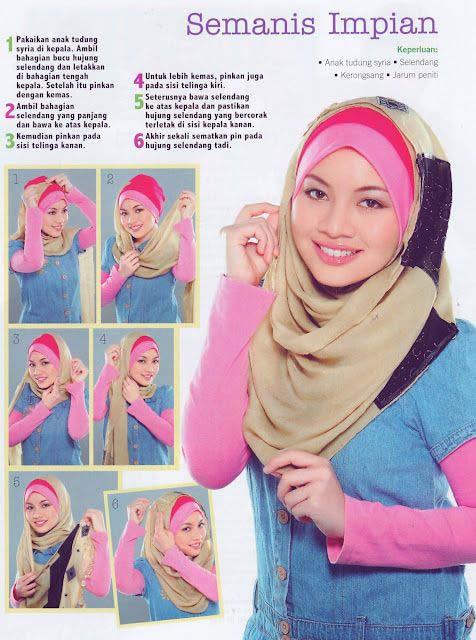 Tutoriel De Hijab Fashion21