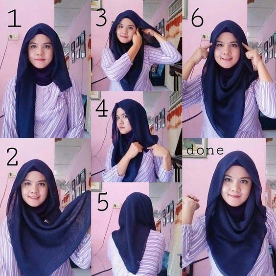 Tutoriel De Hijab Fashion22