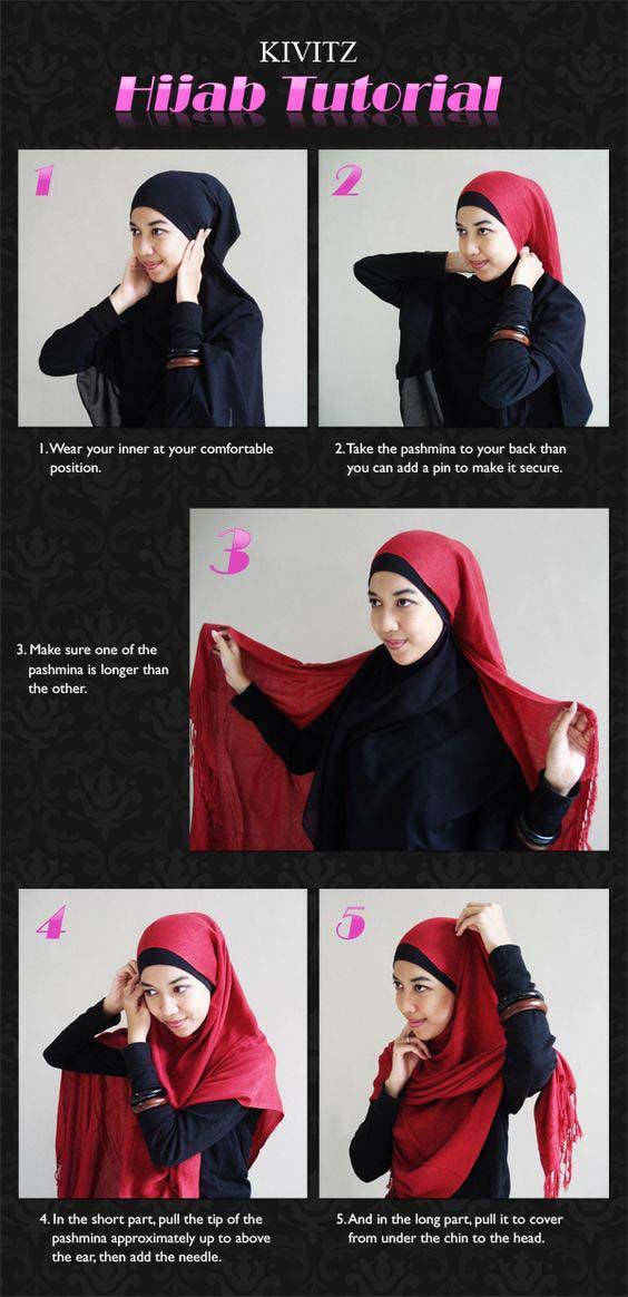 Tutoriel De Hijab Fashion25