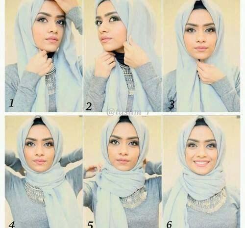 Tutoriel De Hijab Fashion3