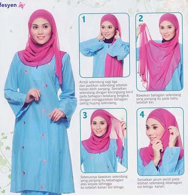 Tutoriel De Hijab Fashion6