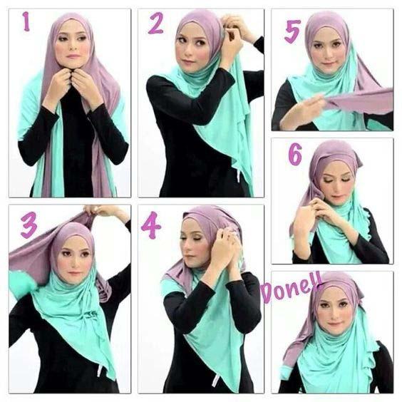 Tutoriels De Hijab Char3i2
