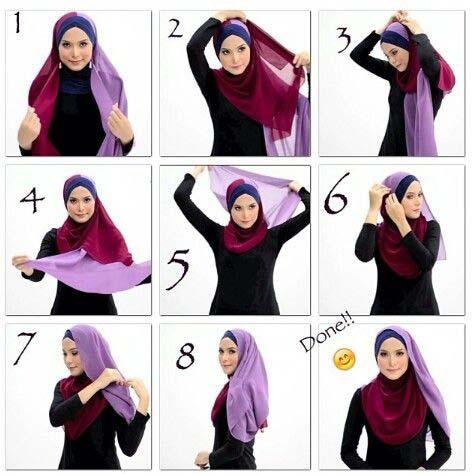 Tutoriels De Hijab Char3i4
