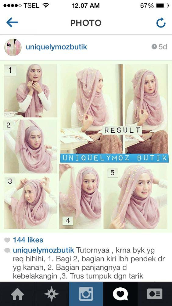 Tutoriels De Hijab Fashion