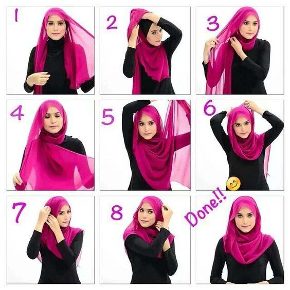 Tutoriels De Hijab Fashion 1